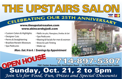 Upstairs Salon Open House